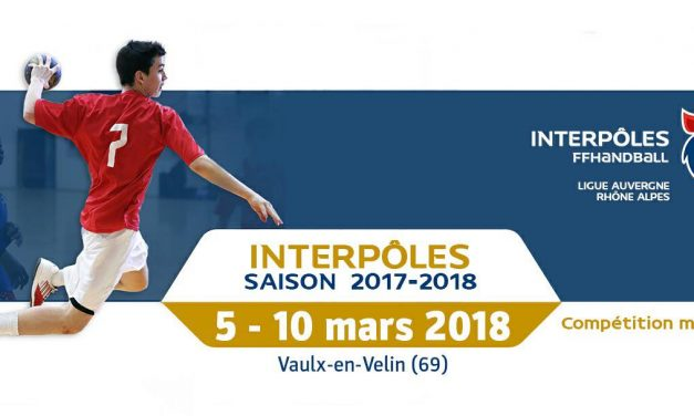 Interpôles 2017/18 5-10 mars 2018