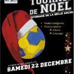 Tournoi de Noël 22 décembre 2018